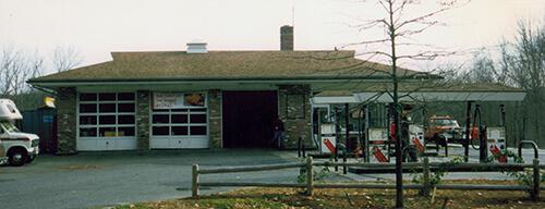 George Sturgis's service garage, 1993