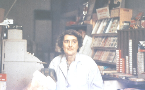 Isabelle Hervey Wing Jackson, early 1960s. Photo credit to Eliot Taylor