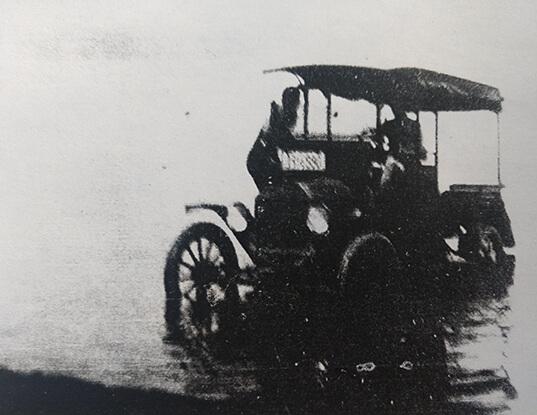 Carwash: Jackson's Model T in Farm Pond, circa 1920s