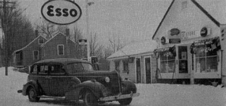 Jackson's Store Esso, late 1940s